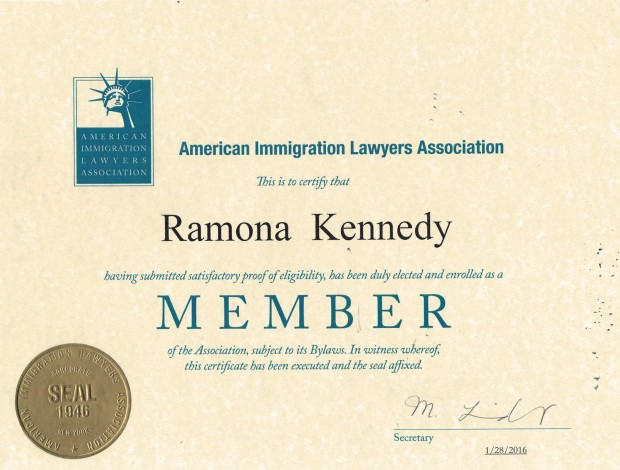 AILA Membership Certificate (2)